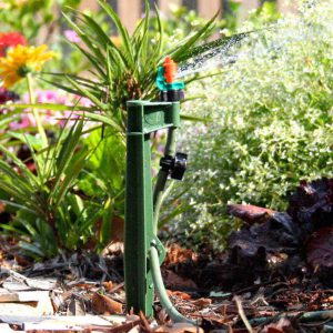 Make sure sprinklers and in-ground irrigation is leak-free this winter.