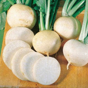 Even turnips such as White Lady Hybrid deplete soil nutrients the peppers need.