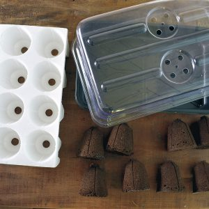 Most gardeners keep their Bio Domes for many, many years, rreplacing only the bio sponges. But if you should ever need a new planting block, tray, or dome, we always have replacements!