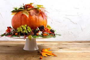 Image of Thanksgiving Table Centerpiece