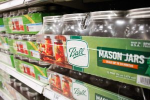 ball brand mason jars in store